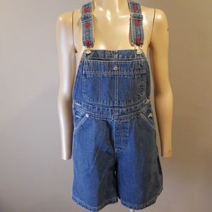 Tommy Hilfiger vintage overalls shorts size small